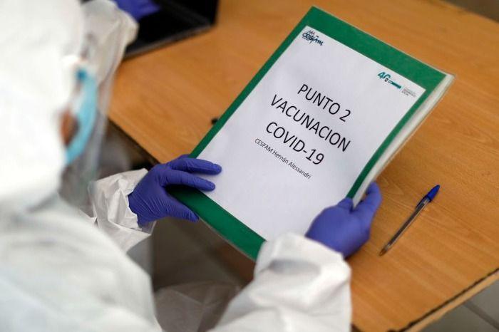 Covid-19: duplicación porcentaje de casos en menores de 20 y grupos vacunados muestran fuertísima disminusión