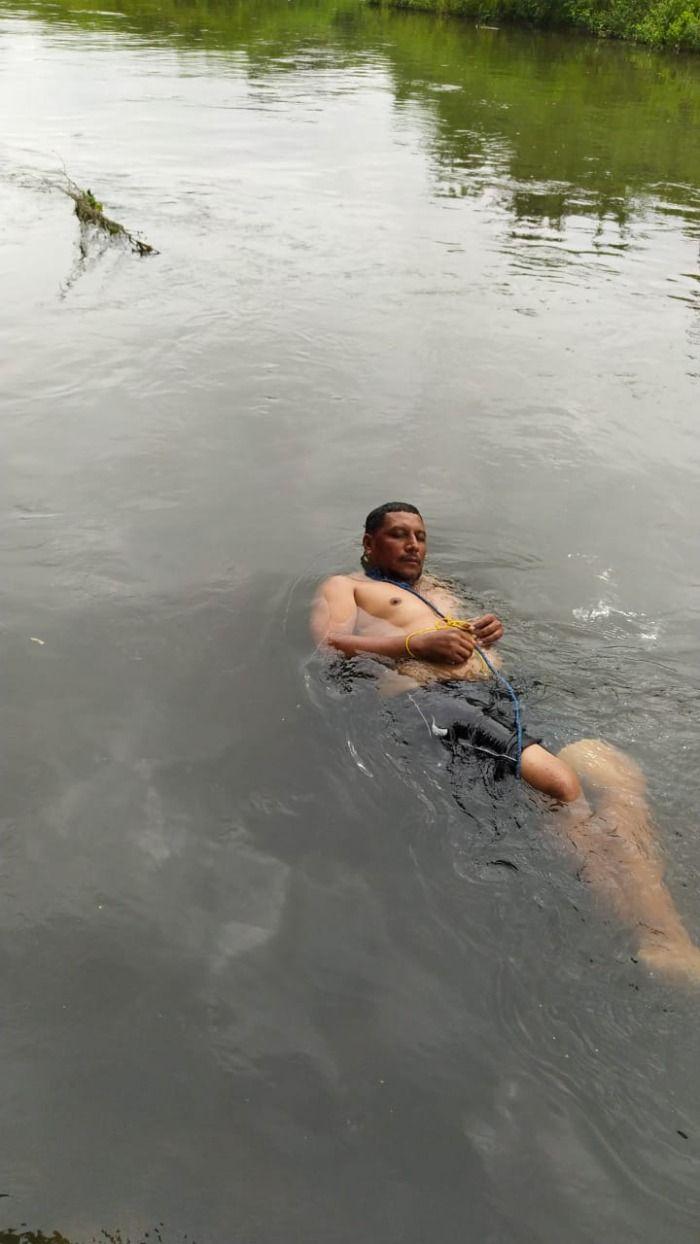 Encuentran Hombre amordasado ahogado