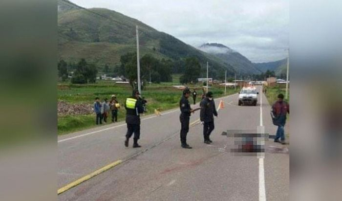 !Ultimo Minuto! motociclista fallece en accidente en la Via Sicuani - Espinar