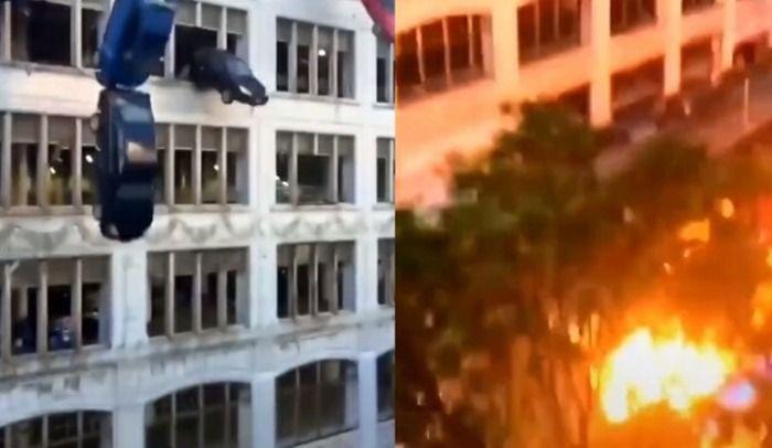 Murio joven en una explocion de un edificio donde vivia