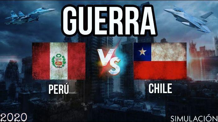 Perú declara la guerra a chile.