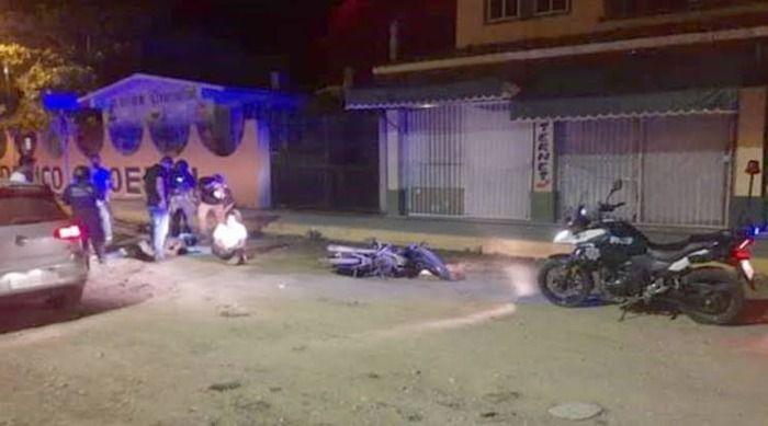 Accidente de dos menores alerta a la fuerza civil de acayucan