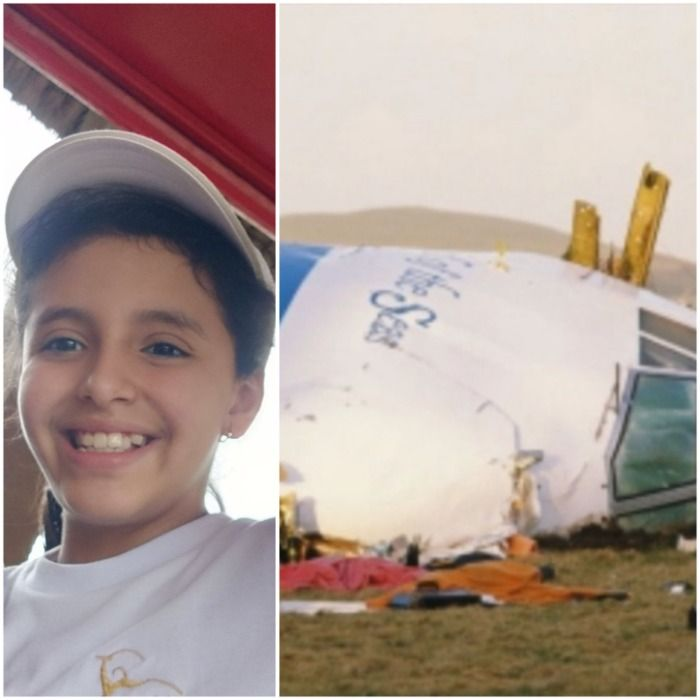 Niña de 11 años de Argentina muere en un accidente de avión.
