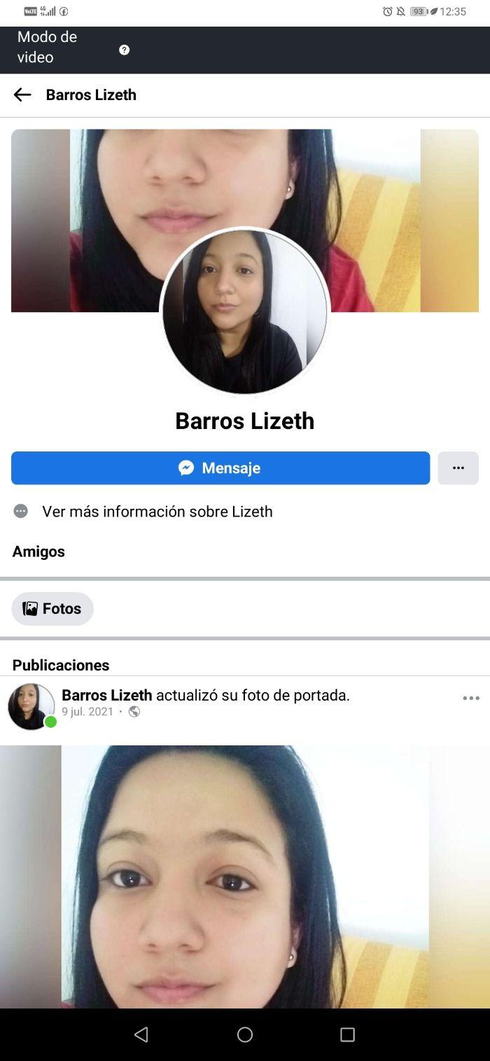 Lizeth Paola Barros Ahumada
